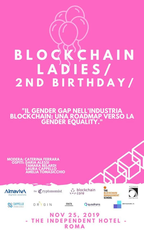 Blockchain Ladies, 2nd Birthday