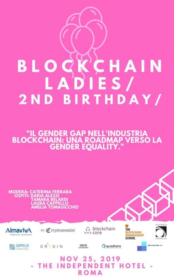 Blockchain Ladies, 2nd Birthday
